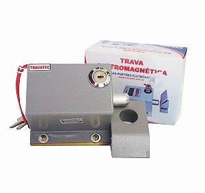 Trava Eletromagnética Para Portões Eletrônicos 220v Travatec