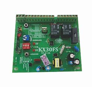 Placa Central Eletronica Rossi Kx30fs-v1.2-14 433mhz