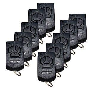 Controle Remoto Garagem 433mhz- kit 10pçs-s/pilha - Azetech