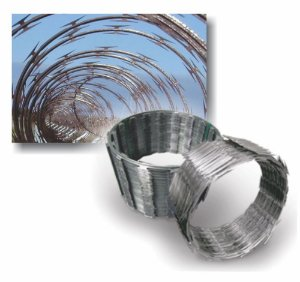 Cerca Concertina Diametro 30 Cm- Rendimento 10 M - HF Metalurgia