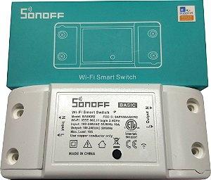 Relé Wifi Interruptor Automação Residencial Basic - Sonoff