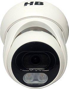 Câmera Dome 20mt 1080p Infra Plást Int Color Dia/noite Hbtech