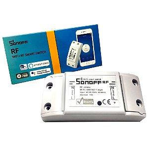 Relé Wifi Interruptor RF Automação residencial Basic - Sonoff
