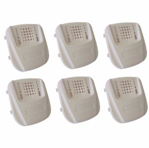 Kit 6 - Caixa Para Central De Alarme Universal - Inovare Plast