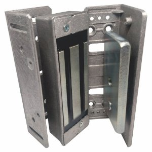 Fechadura magnética Jateada 180kg metal madeira AGL