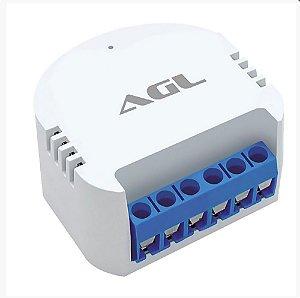 Relé wifi mini 2 canais automação - AGL