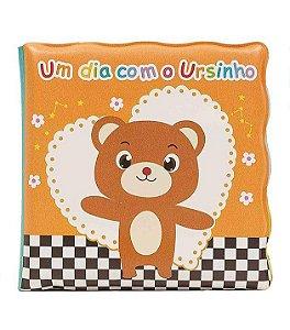 Livrinho Educativo de Banho Ursinho- Buba Baby