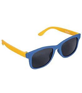 Óculos De Sol Azul - Armação Flexível - Buba Baby