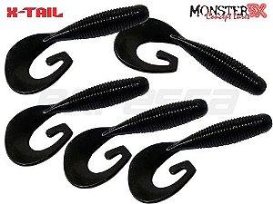 Grub X-Tail Monster 3X com 5 iscas.