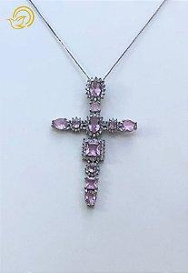 Crucifixo com Cristais
