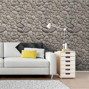 Pedra Areia Cinza II - Papel de Parede