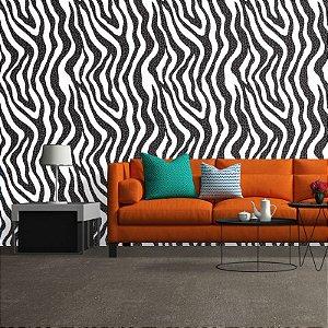 Abstrato Zebra - Papel de Parede