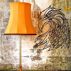 Águia Careca - Adesivo Decorativo 55x68 cm