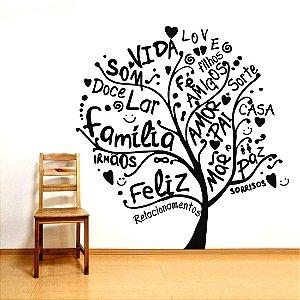 Árvore da Vida - Adesivo Decorativo 80 x 86 cm