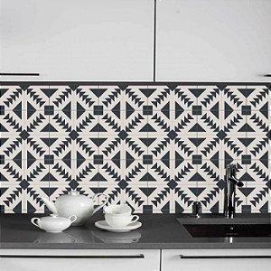 Azulejos Geométrico - Setas - 16 peças com 20x20cm cada