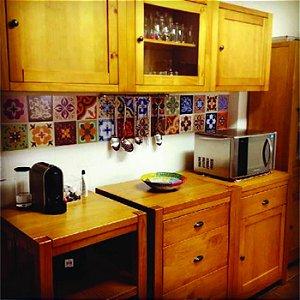 Azulejos Hidráulicos - Coloridos - 16 peças com 20x20 cm cada