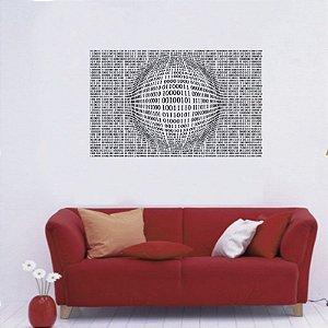 Binário - Adesivo Decorativo 75 x 51 cm