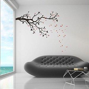 Árvore Cerejeira - Adesivo Decorativo 155 x 200 cm