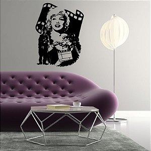Cinema - Adesivo Decorativo 55 x 72 cm