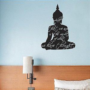 Ensinamentos de Buddha - Adesivo Decorativo 50 x 67 cm