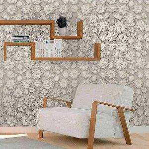 Flores 3D I - Papel de Parede