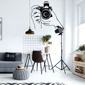 Fotografia - Adesivo Decorativo 91 x 75 cm