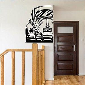 Fusca Old School - Adesivo Decorativo 55 x 72 cm