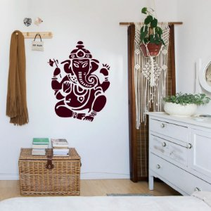 Ganesha - Adesivo Decorativo 42 x 55 cm