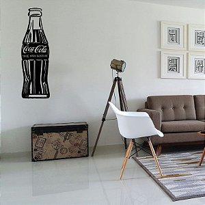 Garrafa Coca-Cola - Adesivo Decorativo 20 x 58 cm