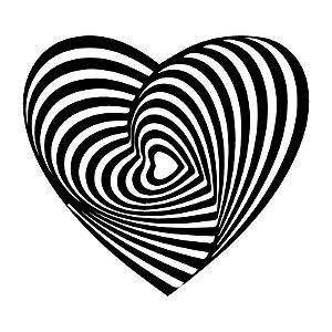 Ilusão de Ótica Coração
