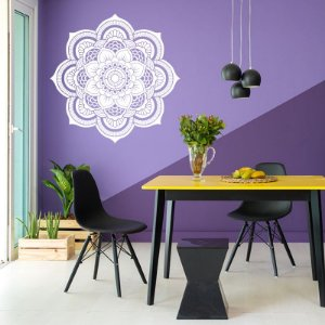 Mandala - Adesivo Decorativo 70 x 70 cm