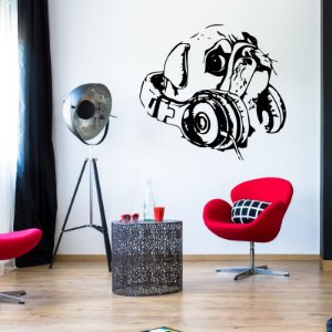Pug Music 80 x 73 cm /
