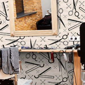 Barbershop - Papel de Parede