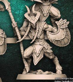 "Guarda-Matas  ""C"" - Guarda-Matas Arverianos - Miniatura Artisan Guild"