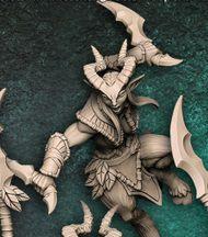 """Guarda-Matas  """"D"""" - Guarda-Matas Arverianos - Miniatura Artisan Guild"""