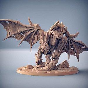 Aldeberan Firebrand - Busca-Chamas de Dumlok - Miniatura Artisan Guild