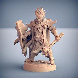 """Inquisidor """"E"""" - Inquisidores Elfos Cinzentos - Miniatura Artisan Guild"""