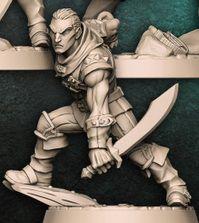 """Adepto """"A"""" - Guilda dos Ladrões - Miniatura Artisan Guild"""