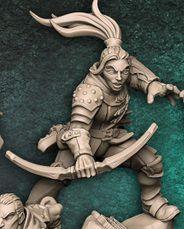 """Adepto """"E"""" - Guilda dos Ladrões - Miniatura Artisan Guild"""