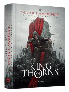 LIVRO - KING OF THORNS - Ed. DARKSIDE - CAPA DURA