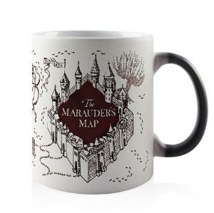 CANECA MÁGICA - MAPA DO MAROTO - Harry Potter