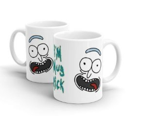 CANECA CERÂMICA - RICK E MORTY - I'M MUG RICK - Cartoon Network