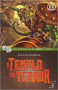 LIVRO JOGO - O TEMPLO DO TERROR - Ian Livingstone