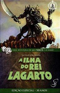 LIVRO JOGO - A ILHA DO REI LAGARTO - Ian Livingstone