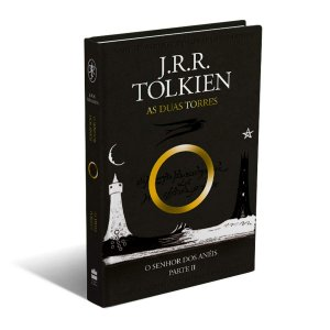 LIVRO - O SENHOR DOS ANÉIS: AS DUAS TORRES - J.R.R.TOLKIEN - CAPA DURA LUXO
