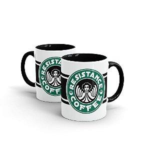 CANECA CERÂMICA - RESISTANCE COFFEE