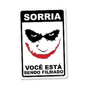 PLACA DECORATIVA - SORRIA - Joker
