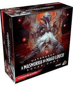 WATERDEEP: A MASMORRA DO MAGO LOUCO - Jogo de tabuleiro + BRINDE