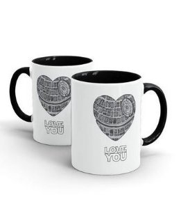 CANECA CERÂMICA - LOVE YOU - STAR WARS