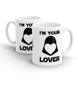 CANECA CERÂMICA - I AM YOUR LOVER - STAR WARS